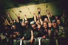This is what a Motorhead crowd looks like at the start of the fourth song in their set!  from Hellblazer! @ Flickr
