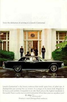 1965 Lincoln Continental Sedan