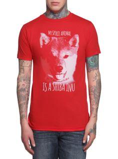 Shiba Inu Spirit Animal T-Shirt | Hot Topic