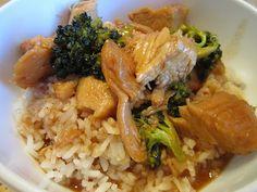 Crock Pot Teriyaki Chicken and Rice Bowls