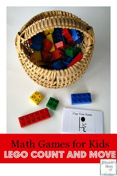 Lego Math Games for Kids