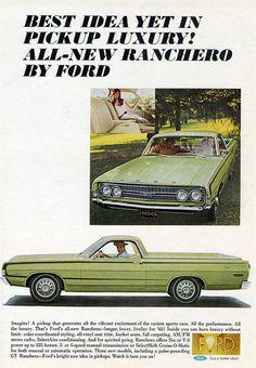 1968 Ford Ranchero GT Pickup