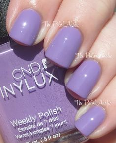 CND Vinylux Swatches lilac longing