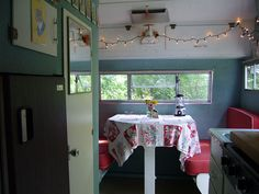sweet #camper #trailer #interior