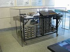The computer was invented in Iowa by John Vincent Atanasoff.  He had to go elsewhere to finish it, but it started here.