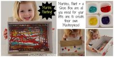 Marble Painting! Create your own Masterpiece in minutes!