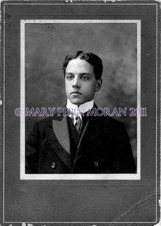 Pierre Toutant Beauregard, grandson of the Civil War General P.G.T. Beauregard.  Pierre was friends with James H. Moran III. Photo is from 1899.