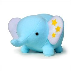 Star Elephant pattern pdf sewing via Etsy  DIY Fluffies There are lots of other cute things here too, like a dragon pattern, whale, monkey, rhino, doll, alien, rocket ship, several cute monsters patterns $9