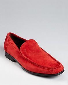 Salvatore Ferragamo Alan Suede Slip-on Shoes | Bloomingdale's