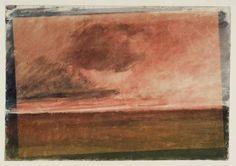 Joseph Mallord William Turner Study of Sky circa 1820-30 Watercolour on paper support: 240 x 345 mm