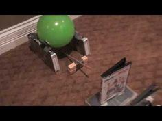 Balloon popping Rube Goldberg