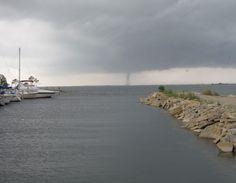 Water Spout at the TAFB Marina 7-4