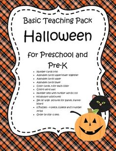 This is a collection of the basic teaching materials needed for a HALLOWEEN theme for early learners. 72 pages
