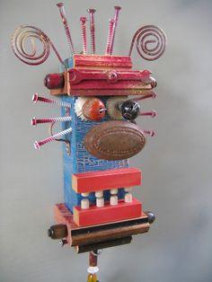 upcycled art! :)