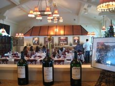 After the museum, possibly after a rest and if time permitted, Bartolotta's Lake Park Bistro for wine and French food.