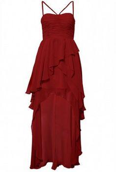 Ruffled Dip Hem Dress by OPULENCE ENGLAND £29 @girlmeetsdress