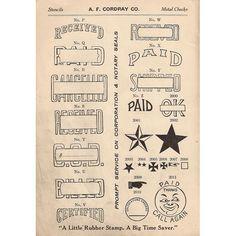 Printable Vintage goodies.