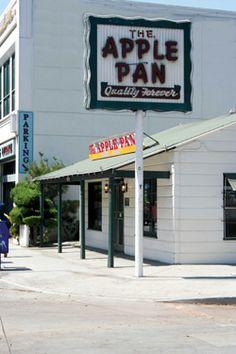 Apple Pan - West LA my dad took us here when we were kids