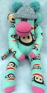 sock monkey monkey