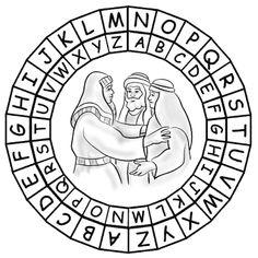 Joseph's Family Reunion Puzzle Page  Genesis 39-41 (NIV)