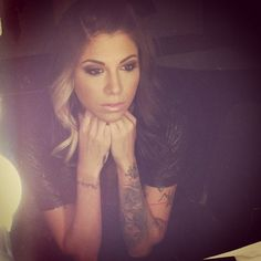 tattoo placements, girl tattoos, hair colors, arm tattoos, christina perri makeup, christina perri hair, a thousand years, hair makeup, tattoo sleeves