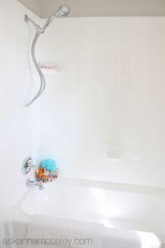 bathroom makeovers, ugli bathtub, guest bathrooms