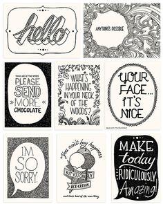 postcard design, postcards design, card designs, graphic postcard, typo design, design postcards, typography postcards, illustration postcard, quot