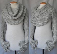 Mary Maxim - Free Chain Stitch Scarf Knit Pattern - Free Patterns - Patterns  Books