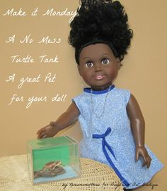 Make It Monday-Turtle Tank post on Daydream Doll Boutique blog