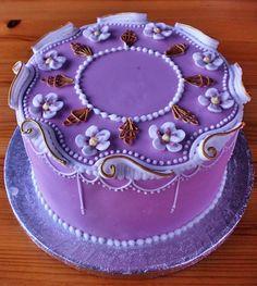 lambeth style, fondant, royal ice, cakes, cake decor, art royal, decor royal, decorations, style cake