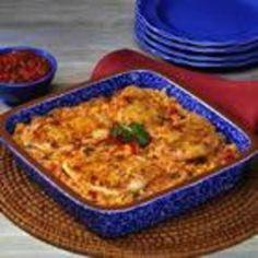 Fiesta Chicken and Rice Bake