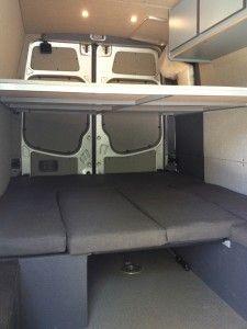 Queen bunk beds!