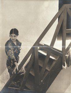 """Edward Weston, """"Untitled [Tina Modotti on Stairs]"""" (1923)"""