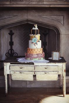 whimsical wedding cake!