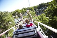 Iowa's oldest amusement park in Okoboji welcomes thrill-seekers to ARNOLD'S PARK.