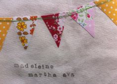 Embroidery Hoop with Name