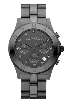 MARC BY MARC JACOBS 'Blade' Crystal Index Watch available at #Nordstrom