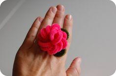pipe cleaner rose rings