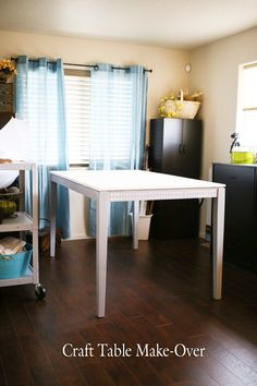 Craft Table Make-Ove