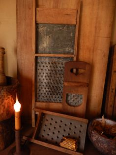 old graters, love them