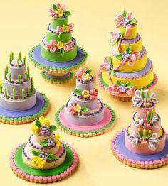 cake cookies, cookie cakes, gourmet cupcakes, cookie art, julia usher
