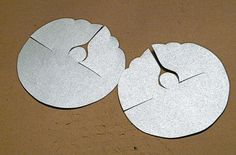 Punched Tin Paper Angels by gingerbread_snowflakes, via Flickr