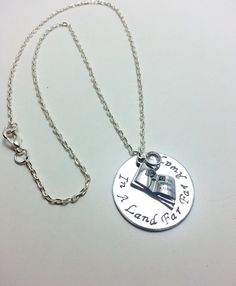 Fairytale jewelry stamped jewelry once upon by UniqJewelryDesigns, $35.00