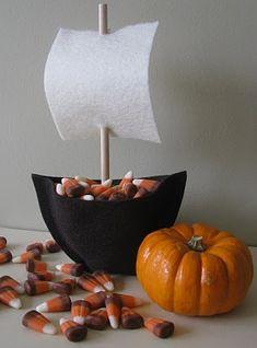 DIY Thanksgiving Treat Holders...