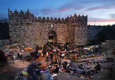 The Damascus Gate - Jerusalem