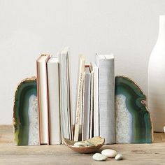 Agate Bookend #westelm