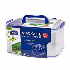 How tall can you stack them all? - Lock & Lock Stackable Containers