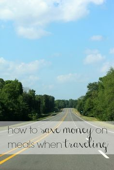 Travel tip – saving money on meals