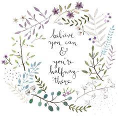 * believ, inspir lane, inspiration, halfway, thought, word, quot, ffion mckeown, live