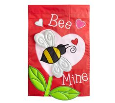 Show your home some love with a Pier 1 Bee Mine Garden Flag